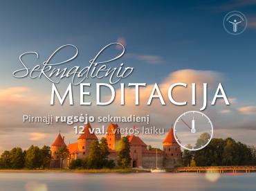 Sekmadienio meditacija 2016-09-04