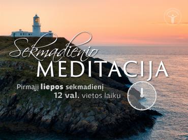 Sekmadienio meditacija 2016-7-3