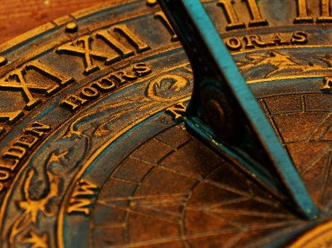 Surface of sundial