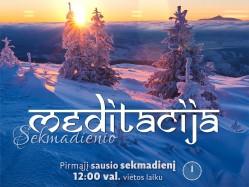 Sekmadienio MEDITACIJA 2017-1-1 12:00