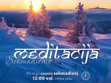 2017-01-01 sekmadienio meditacija