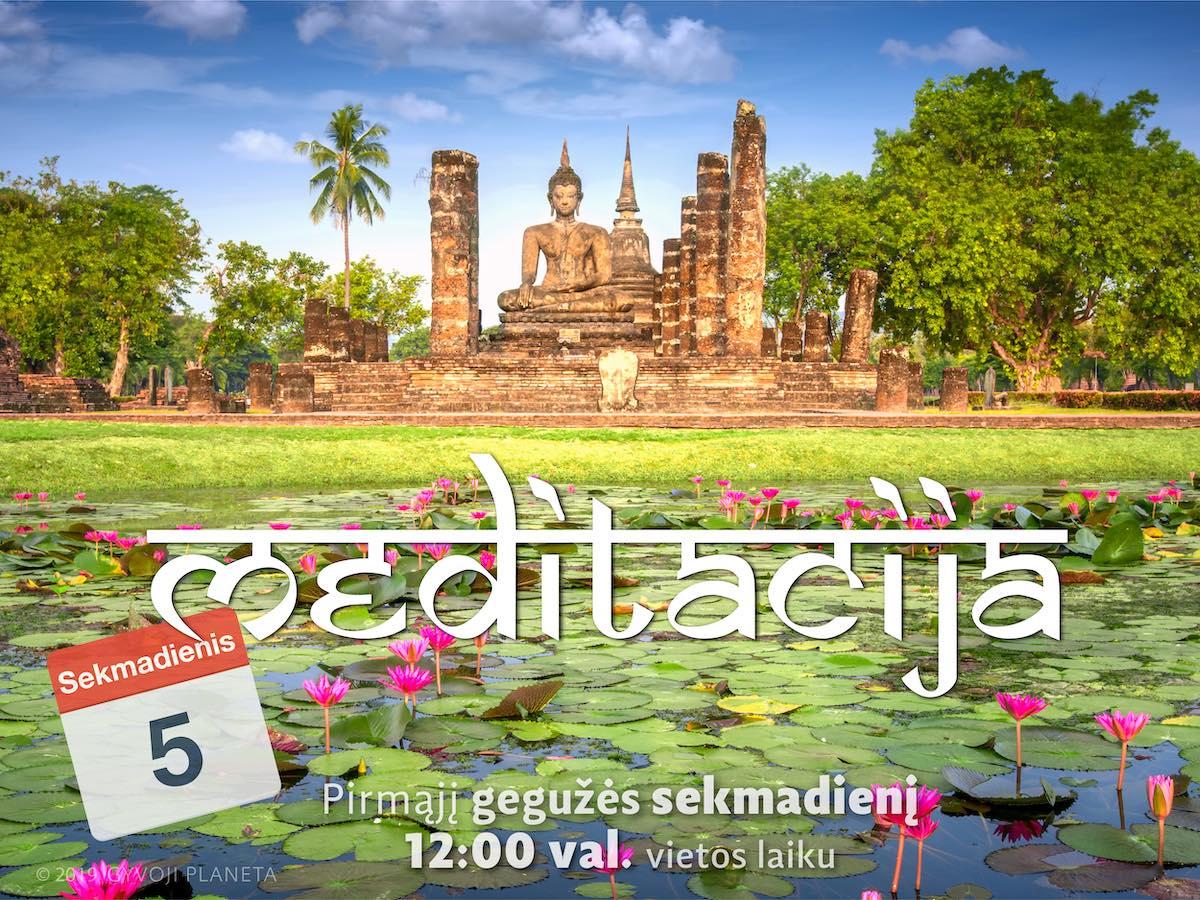 Sekmadienio MEDITACIJA 2019-5-5