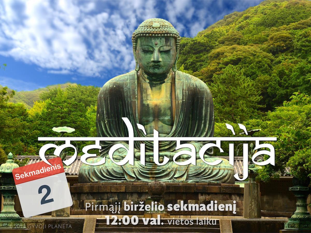 Sekmadienio MEDITACIJA 2019-6-2