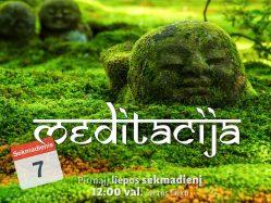 Sekmadienio MEDITACIJA 2019-7-7