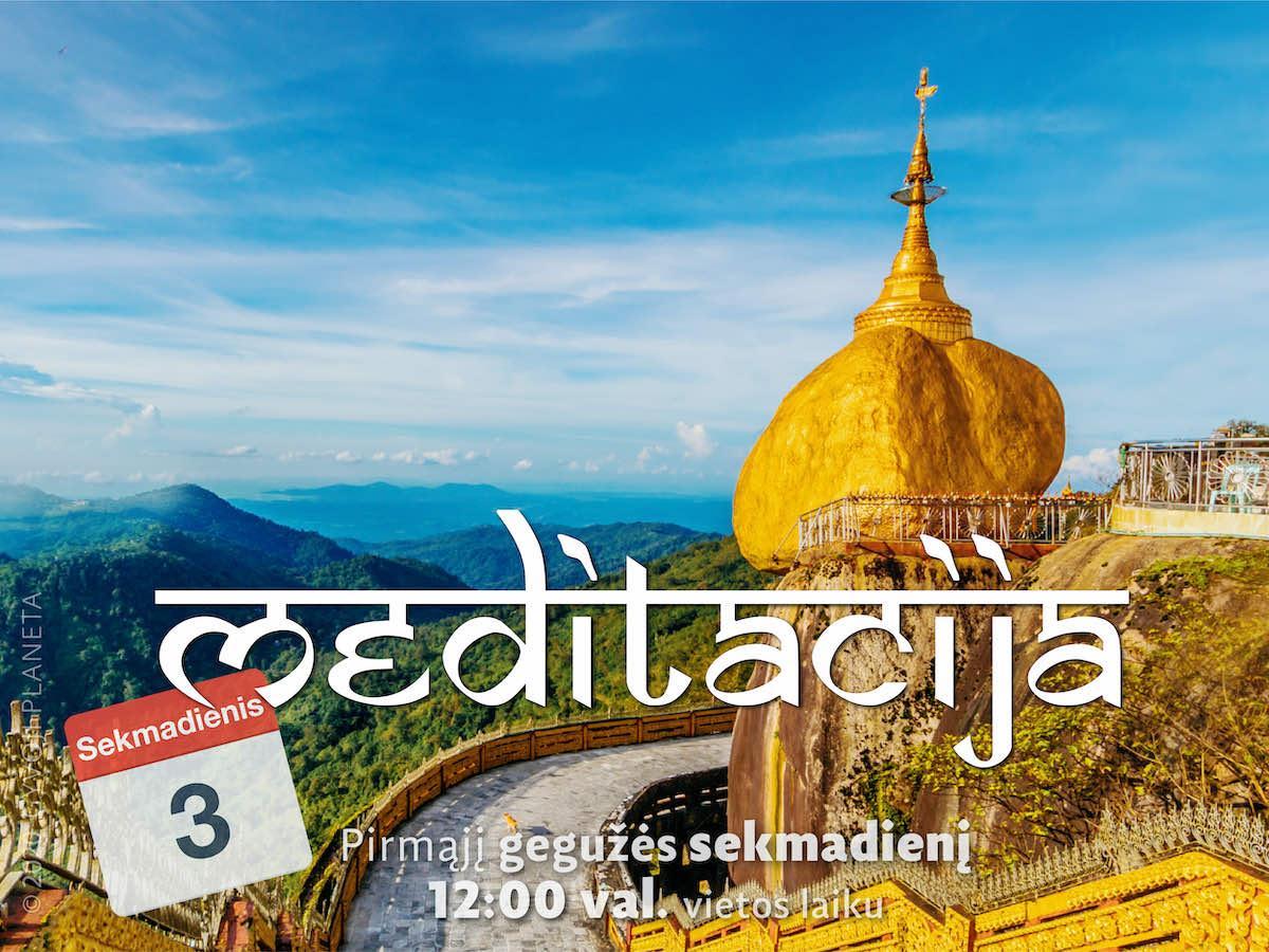 Sekmadienio MEDITACIJA 2020-5-3
