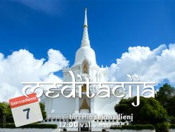 Sekmadienio MEDITACIJA 2020-6-7