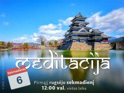 Sekmadienio MEDITACIJA 2020-9-6