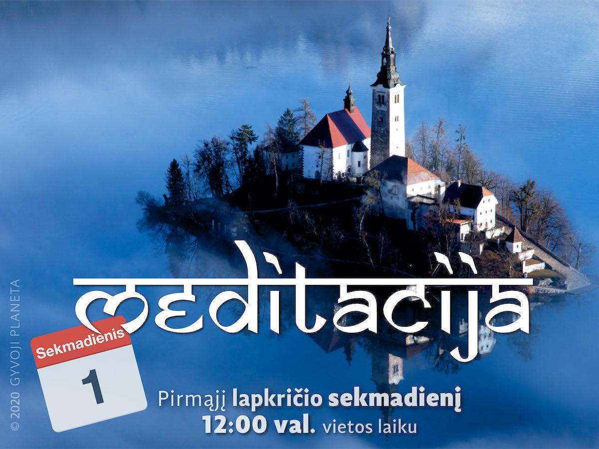 Sekmadienio MEDITACIJA 2020-11-1